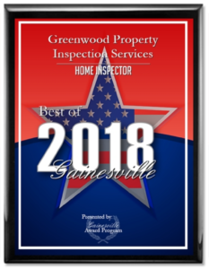 2018 Best Home Inspector In Gainesville Florida - Greenwood Property Inspection Services